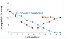 7x7 Afslank Receptenboek tov een normaal dieet